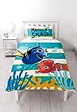 Buscando a Nemo Dory solo Panel de edredón y almohada