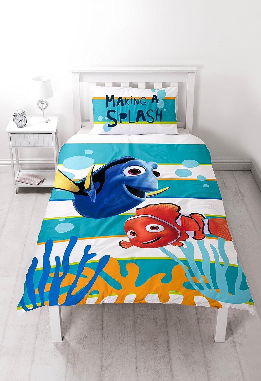 Buscando a Nemo Dory solo Panel de edredón y almohada Character World DNEDORDS001UK1