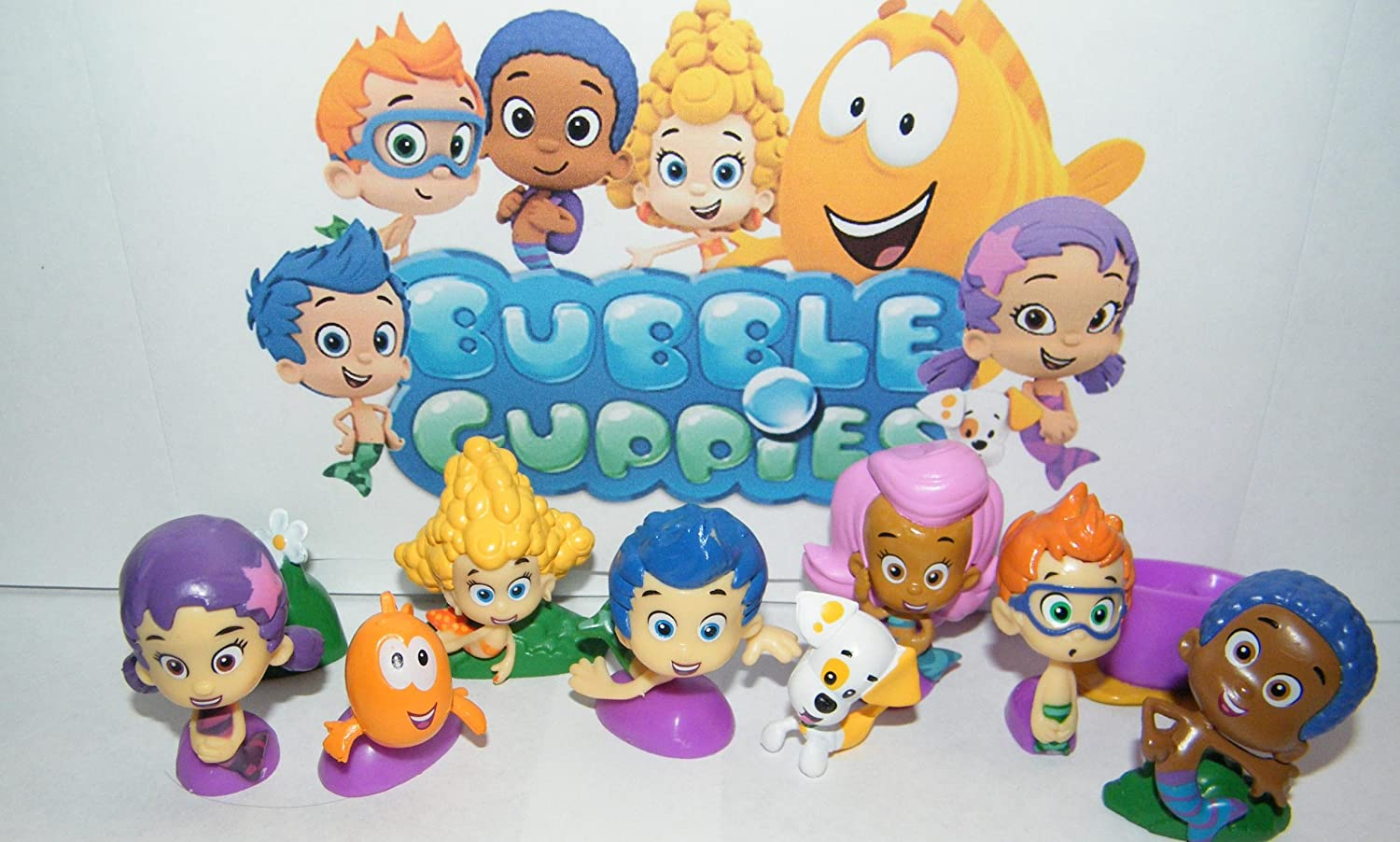 Buy Nickelodeon Bubble Guppies Deluxe Figure Set Toy Playset