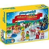 Playmobil Calendario dell'Avvento 1.2.3 Natale in Fattoria,, 9009