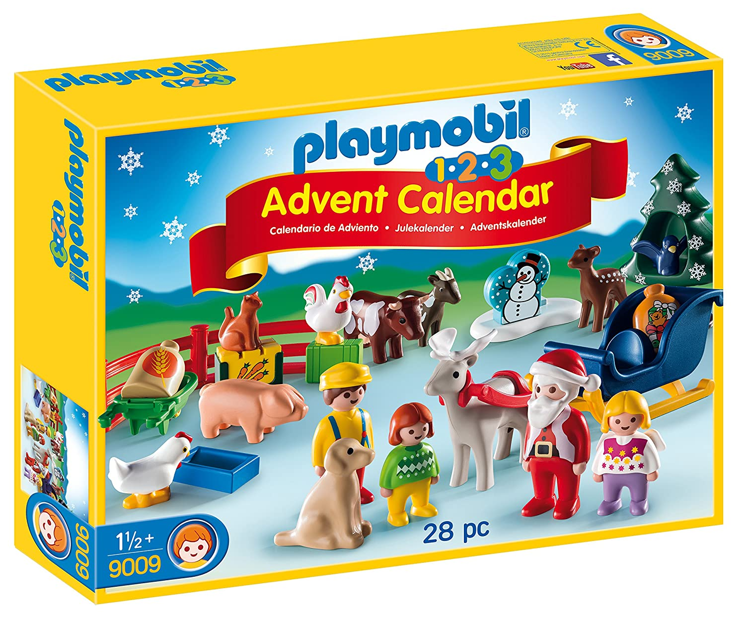 Playmobil 9009 Advent Calendar, 1.2.3 Christmas on the Farm