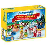 Playmobil Calendario dell'Avvento 1.2.3 Natale in Fattoria,, 9009