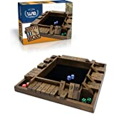 WE Games 4-Player Shut the Box, Travel Size, 8 inches