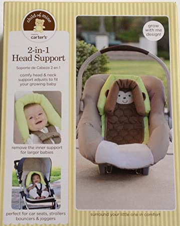 Amazon Carters Child Of Mine 2 In 1 Head Support Monkey