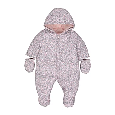 88f42d98d59a Mothercare Baby Girls Snowsuit Fleece  Amazon.co.uk  Clothing