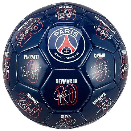 Paris Saint Germain Ballon Psg Signatures Des Joueurs Collection Officielle T 5