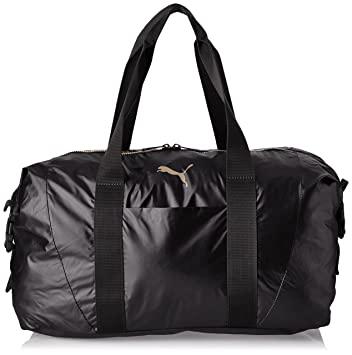7bac9a197c2 Puma Fit at Workout Bag Gold Black (750 x 40 x 33 cm, 70 Litre ...
