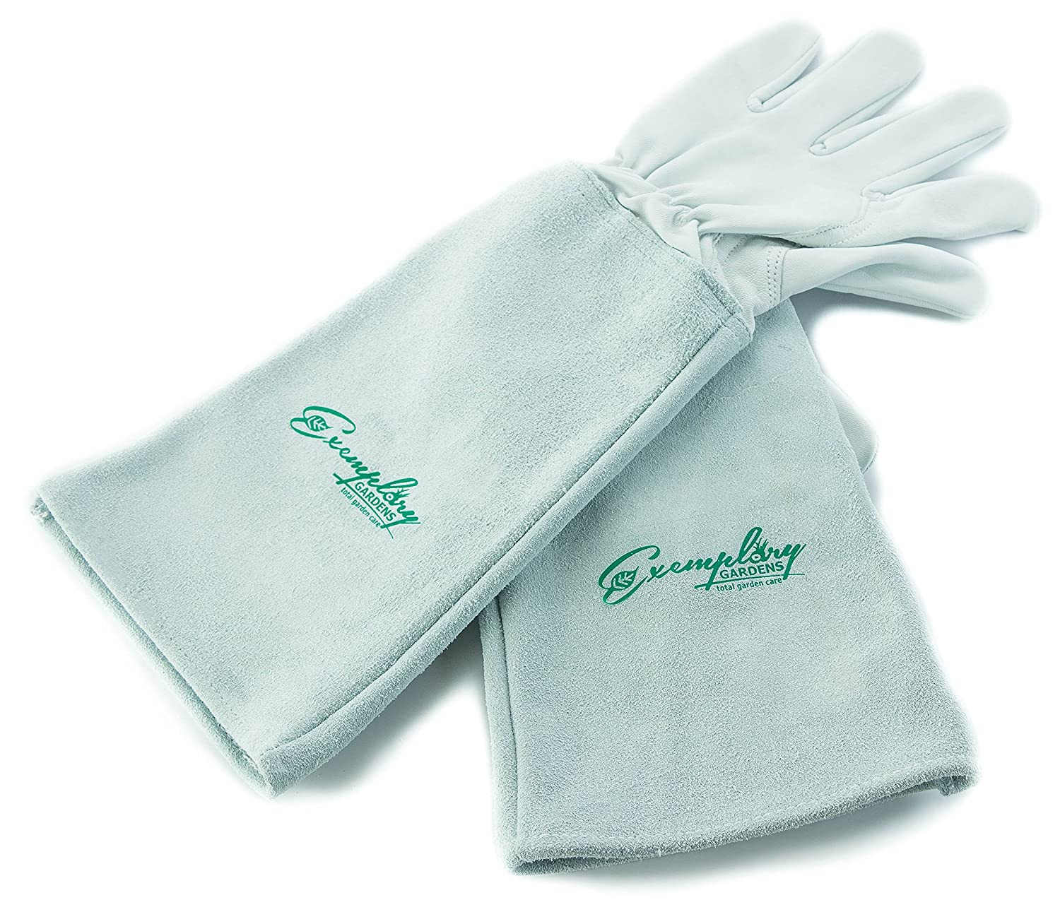 Rose Pruning Gloves for Men and Women. Thorn Proof Goatskin Leather Gardening Gloves with Long Cowhide Gauntlet to Protect Your Arms Until The Elbow (Extra Small)