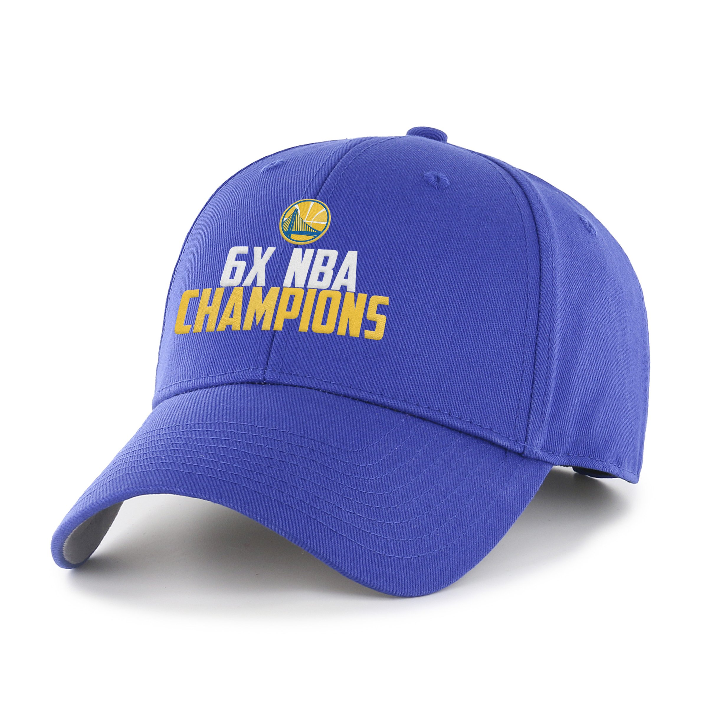 OTS NBA Golden State Warriors Unisex NBA 2018 Champions All-Star Adjustable Hat, Royal-Multi, One Size by OTS