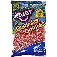 Huer Bulk Small Strawberry Swirls-Not Sour x1kg, 1.00-Kilogram