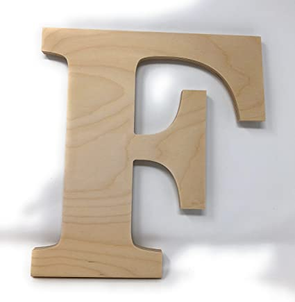 gocutouts 10 wooden f unfinished wooden letters paint ready wall decor news