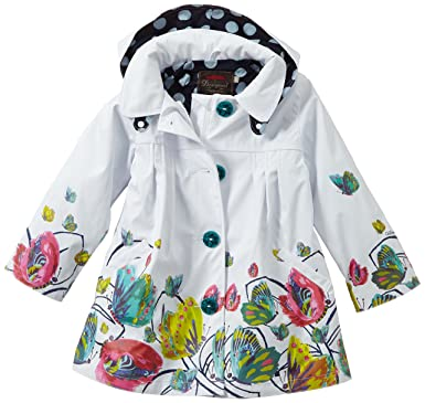 e45a07d48 Catimini Baby Girls 0-24m GOMME Floral Jacket, Off-White (Nacre), 3-6  Months (Manufacturer Size: 6 Months): Amazon.co.uk: Clothing