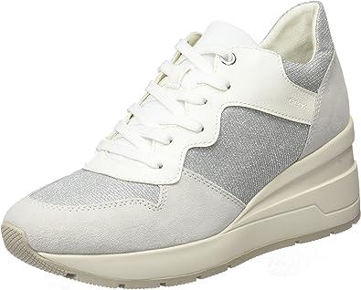 Geox D Zosma C, Sneakers Basses Femme