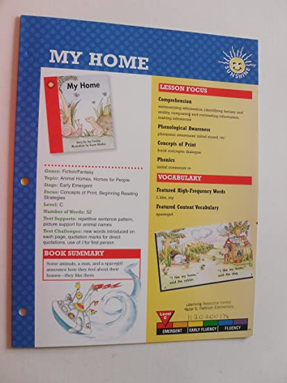 amazon com my home 6 pages brochure paperback everything else