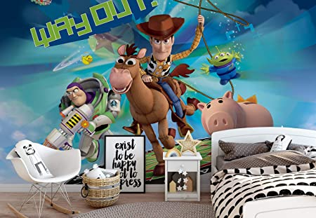 Disney Wallpaper mural for children/'s bedroom Princess Rapunzel Fairy tale