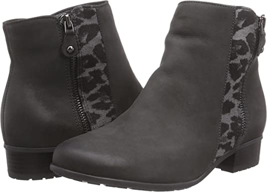 Jenny by Ara Femmes Chelsea Boots Bottes PORTLAND cuir doublure gris taille 38 NEUF