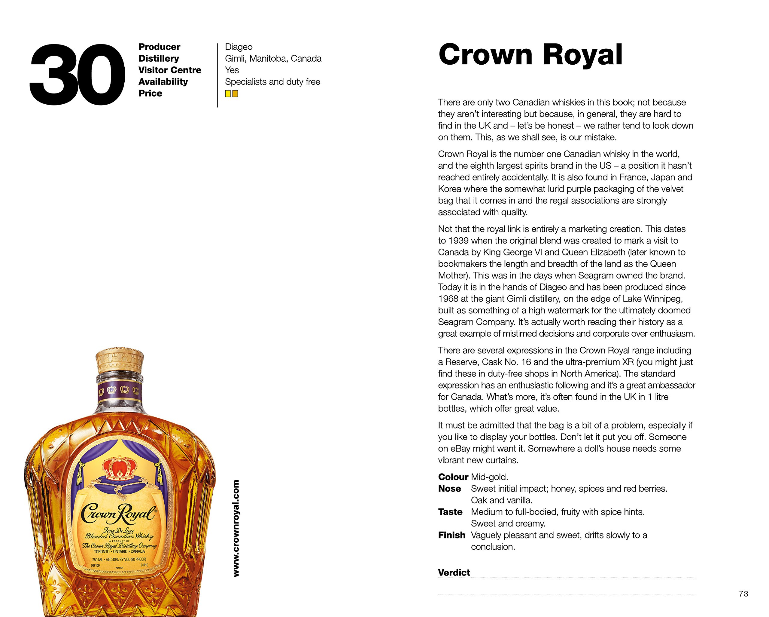 101 whiskies to try before you die revised updated third