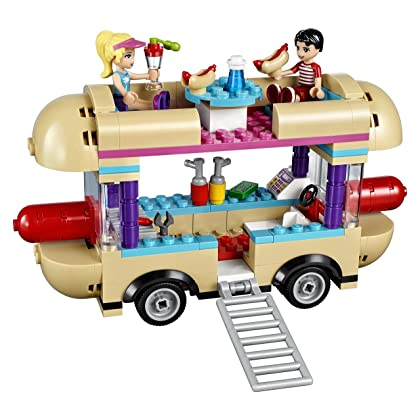 LEGO Friends Amusement Park Hot Dog Van 41129 New Toy for June 2016