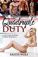 Quadruple Duty - A Military Reverse Harem Romance Kindle Edition