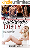 Quadruple Duty - A Military Reverse Harem Romance