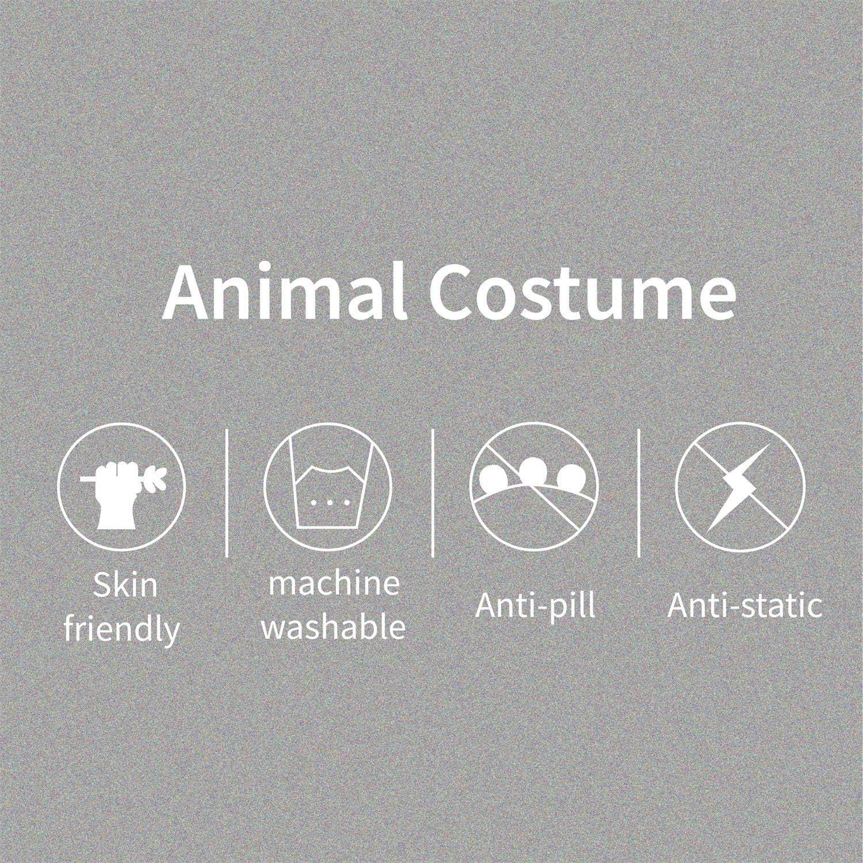 softan Pigiama Animale Adulto Costume Peluche Un Pezzo Kigurumi Onesies