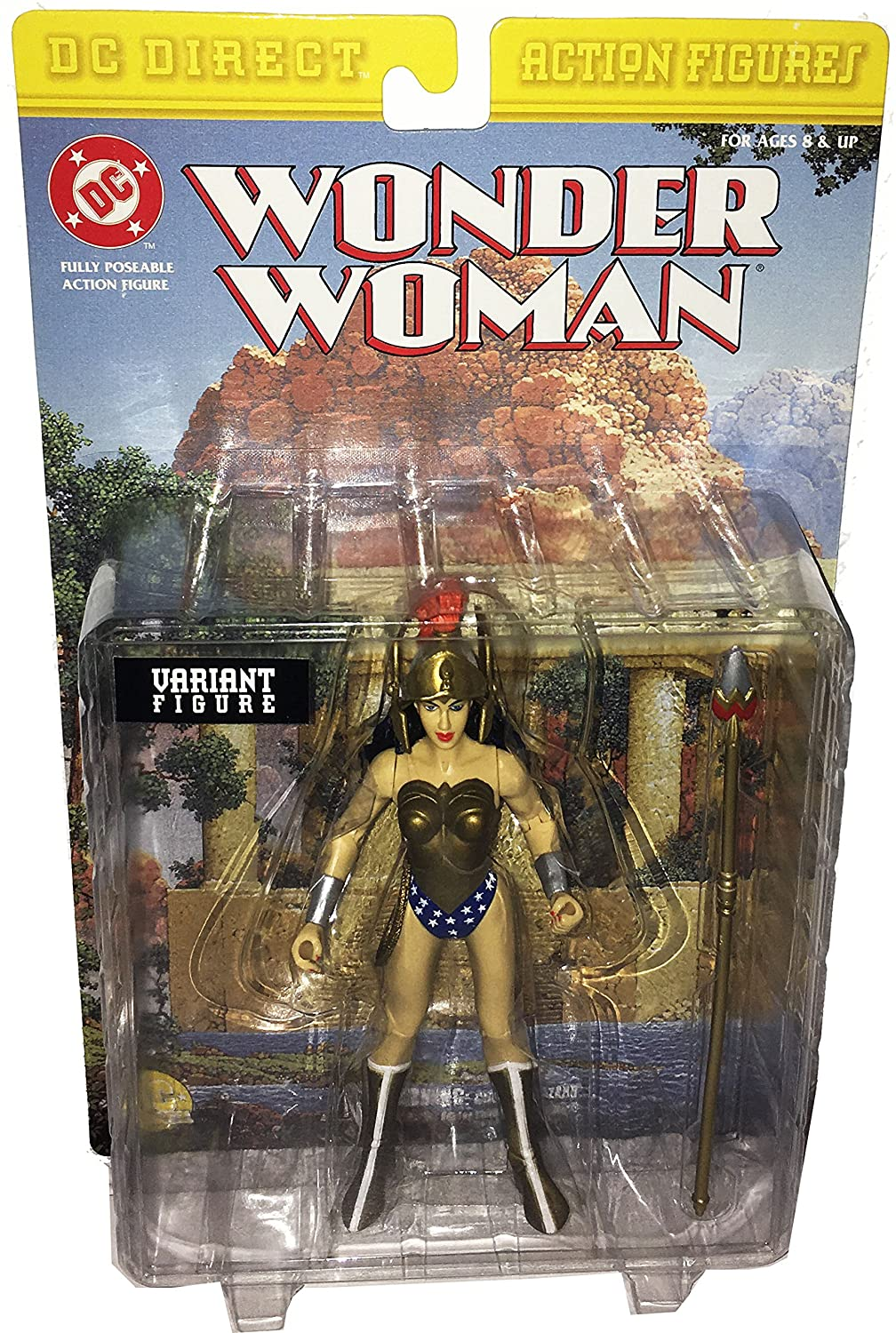 DC Direct Action Figures WONDER Damenschuhe: Fully Poseable Action Figure - VARIANT FIGURE