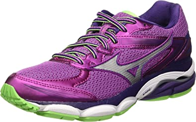 Mizuno J1GD160902, Zapatillas de Running Mujer, Morado (Rosebud/Silver/Mulberrypurple), 38.5 EU (talla del fabricante: 5.5 UK): Amazon.es: Zapatos y complementos