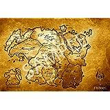 Amazon.com: Best Print Store - Game of Thrones Westeros and Essos ...