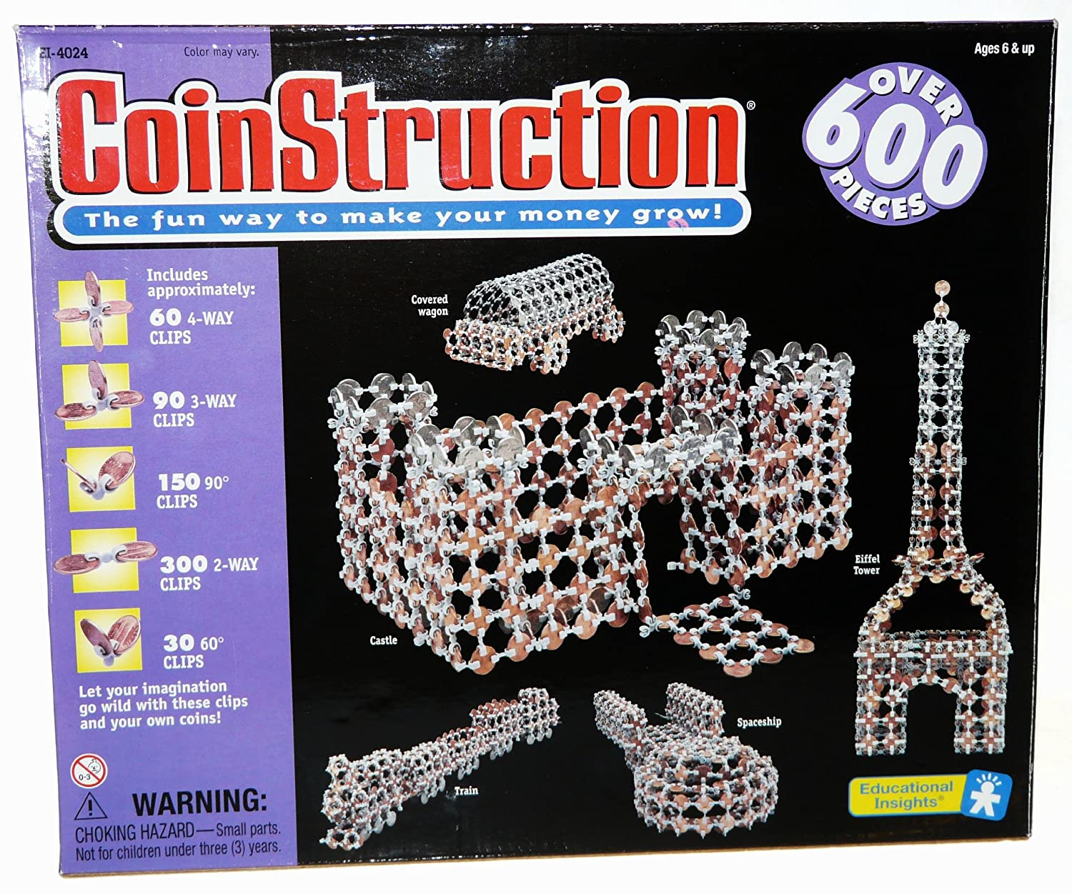 Amazon Com Coinstruction The Fun Way To Make Your Money Grow Toys Games