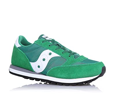 Saucony Originals Boys  Jazz Original Kids Trainers Green Green White ... 94336e45e08