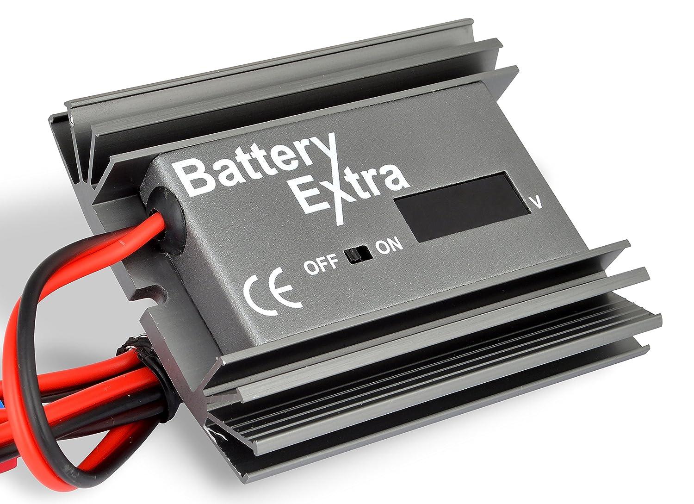 Ricondizionatore desolfatore per batterie 12/24 Volt, ricondiziona le vostre vecchie batterie, estende la vita di  quelle nuove, ideale per barche, camper, batterie solari, batterie a ciclo profondo e batterie per il tempo libero. - sakura batteries