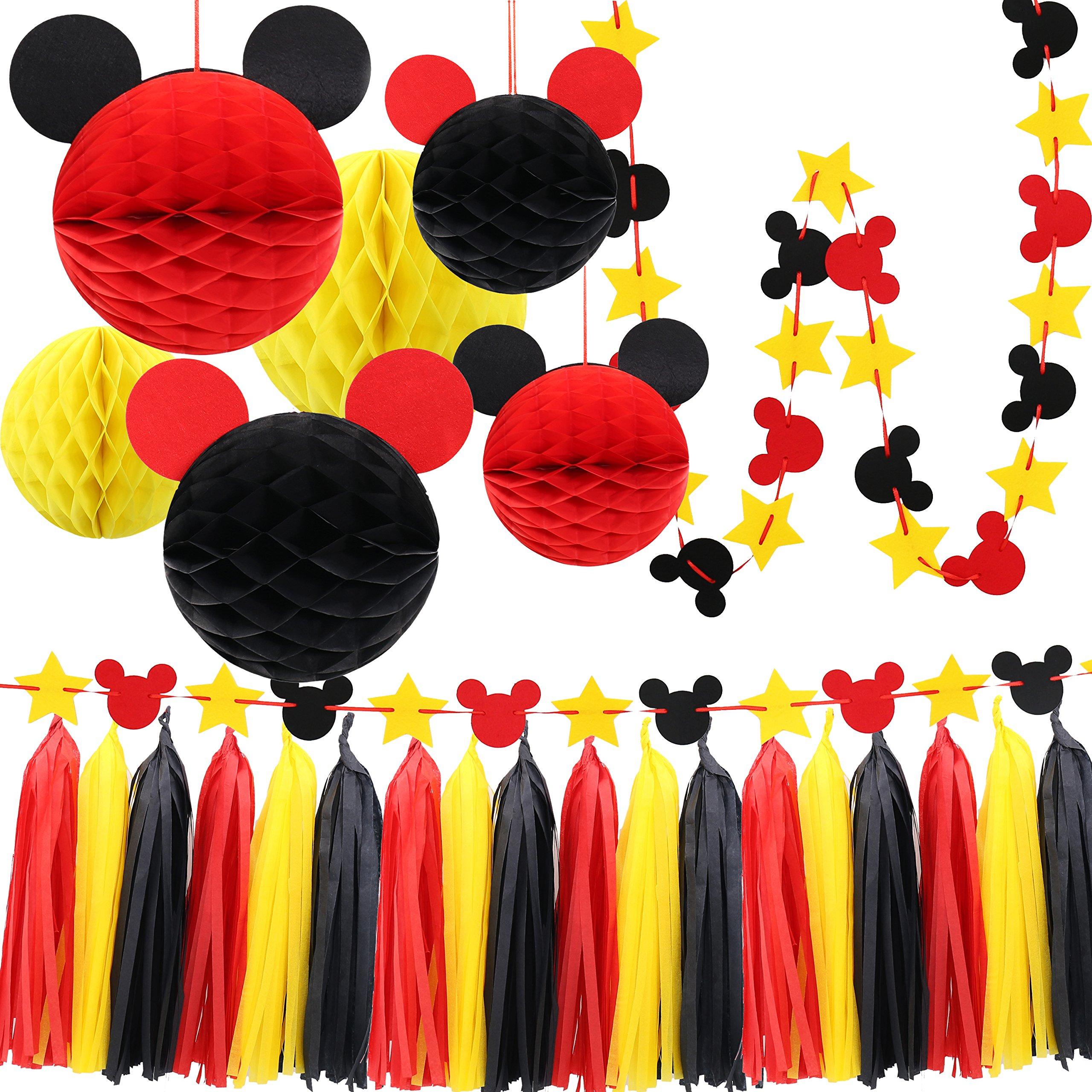 Amazon Com Chuangqi Mouse Ears Headband For Boys And Girls Birthday
