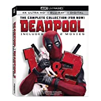 Deals on Deadpool/Deadpool 2 4K Ultra HD Blu-ray + Digital
