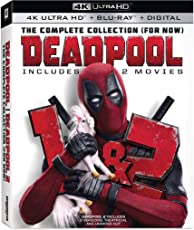 Deadpool 1+2 2pk Uhd+dhd [Blu-ray];Marvel