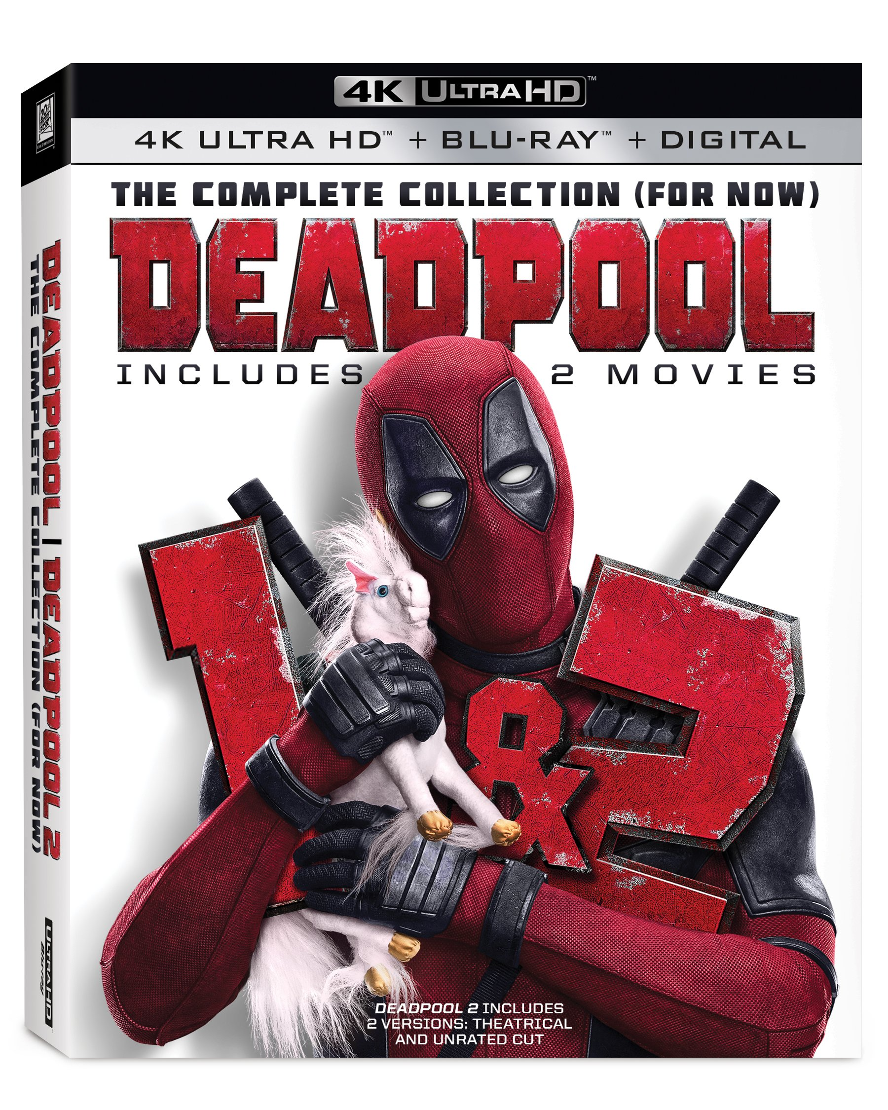 Blu-ray : Deadpool: The Complete Collection (for Now) (4K Mastering, 2 Pack, Subtitled, Dolby, Widescreen)