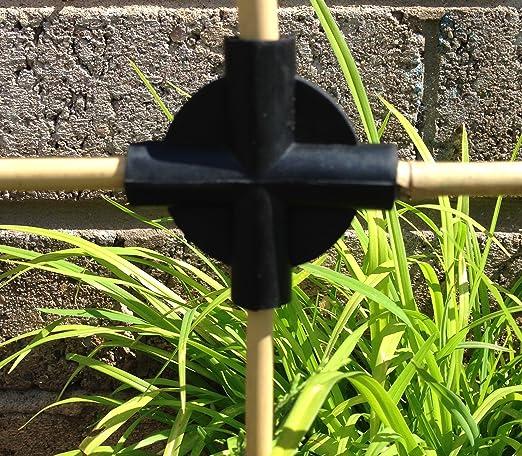 20 x 4 way Flexi construir bolas caña conectores frutas Jaula Red ...