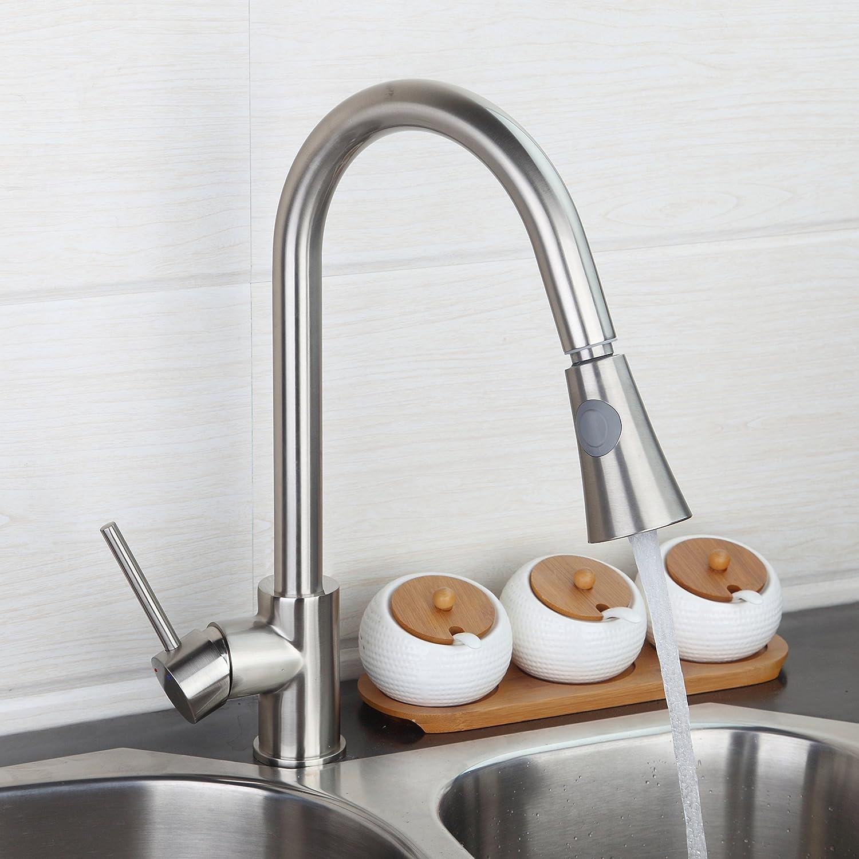 yanksmart Billig Küche ziehen Spüle Wasserhahn Schwenkauslauf ...