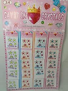 باكو 12 استيكرز ملصقات كريستال للحرف والفنون اليدوية