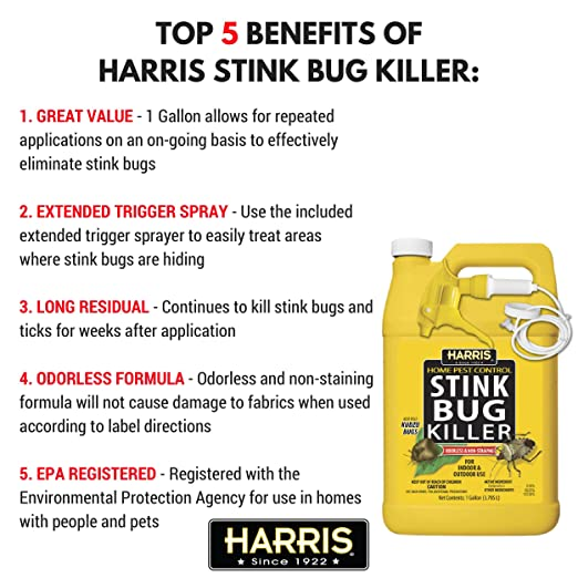 Amazoncom Harris Stink Bug Killer Gallon Spray Garden Outdoor