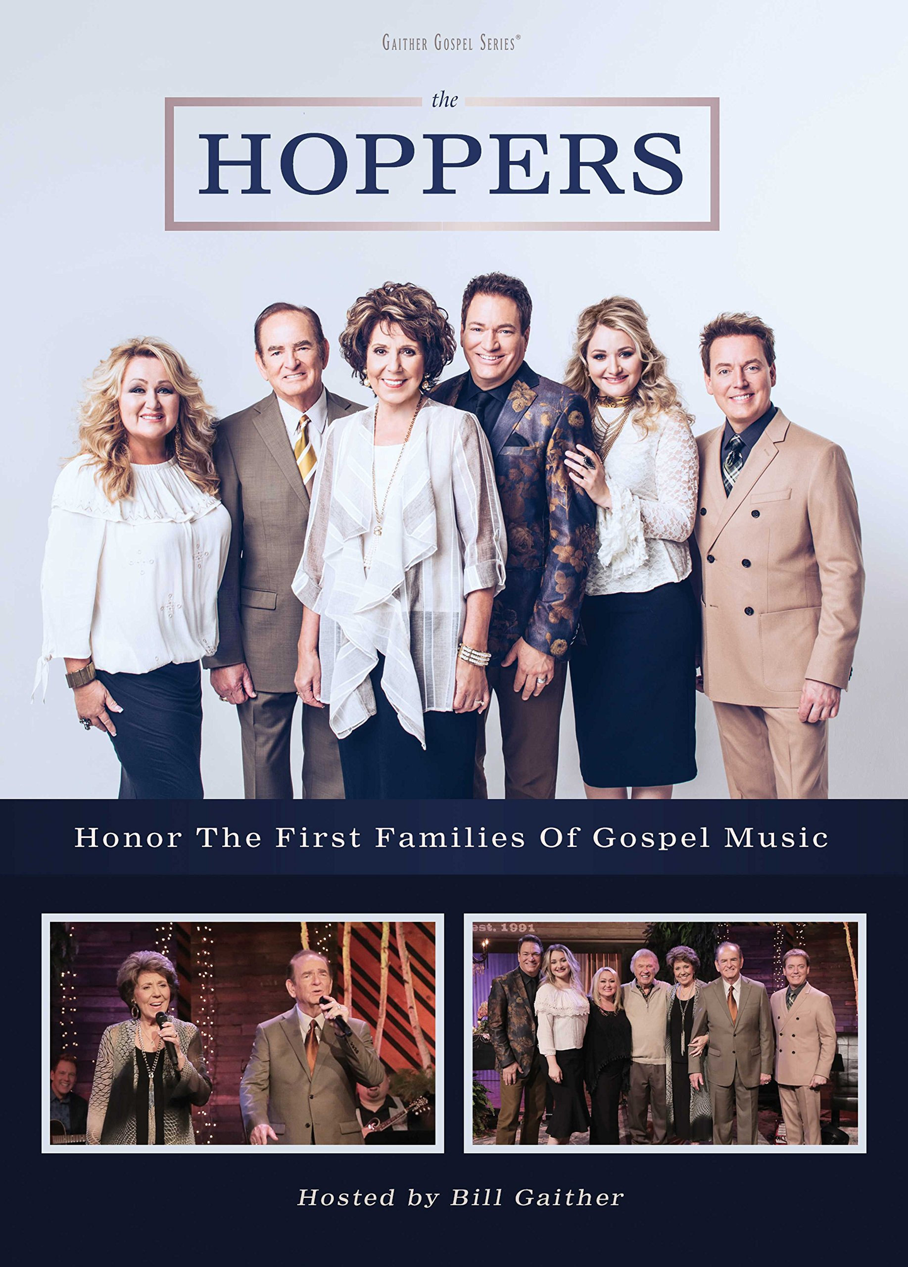 DVD : The Hoppers - The Hoppers Honor The First Families Of Gospel Music (DVD)