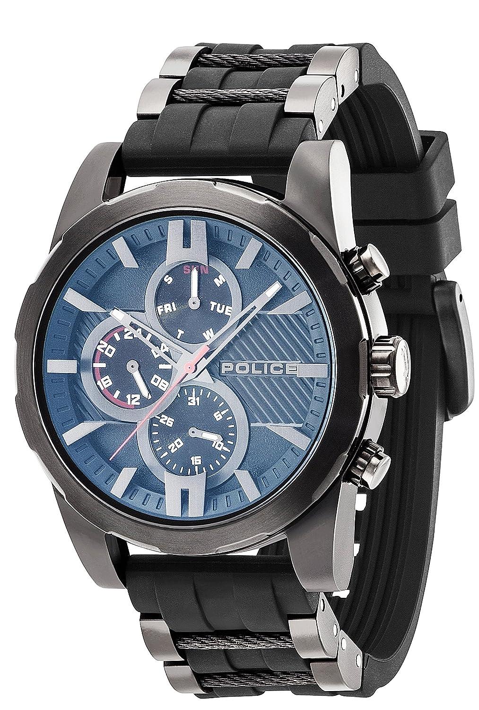 Police Herren-Armbanduhr Matchcord Analog Handaufzug 14541JSB-02PA
