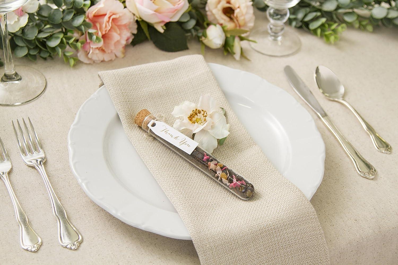 Amazon.com: Darice Victoria Lynn Wedding Holders, Glass Test Tube ...