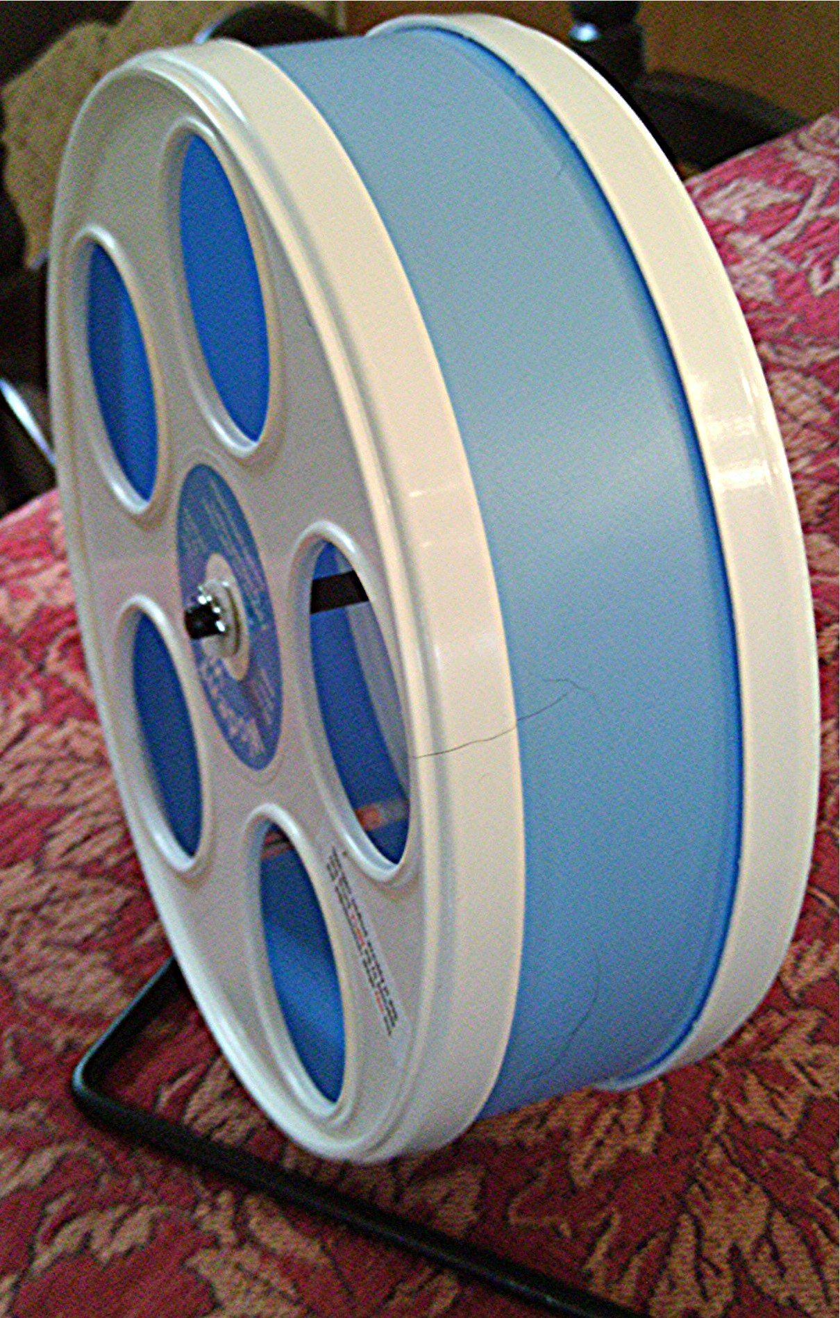JUNIOR WODENT WHEEL 8'' LIGHT BLUE WITH WHITE by Wodent Wheel