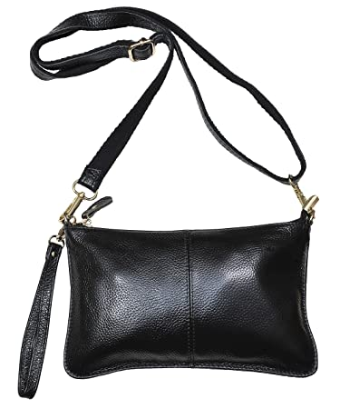 Buy Beurlike Womens Genuine Leather Smartphone Crossbody Bag 3792435184