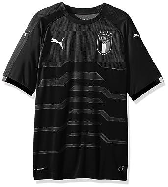 94ba15c71eb Puma Mens FIGC Italia Goalkeeper Shirt Replica SS  Amazon.co.uk  Clothing