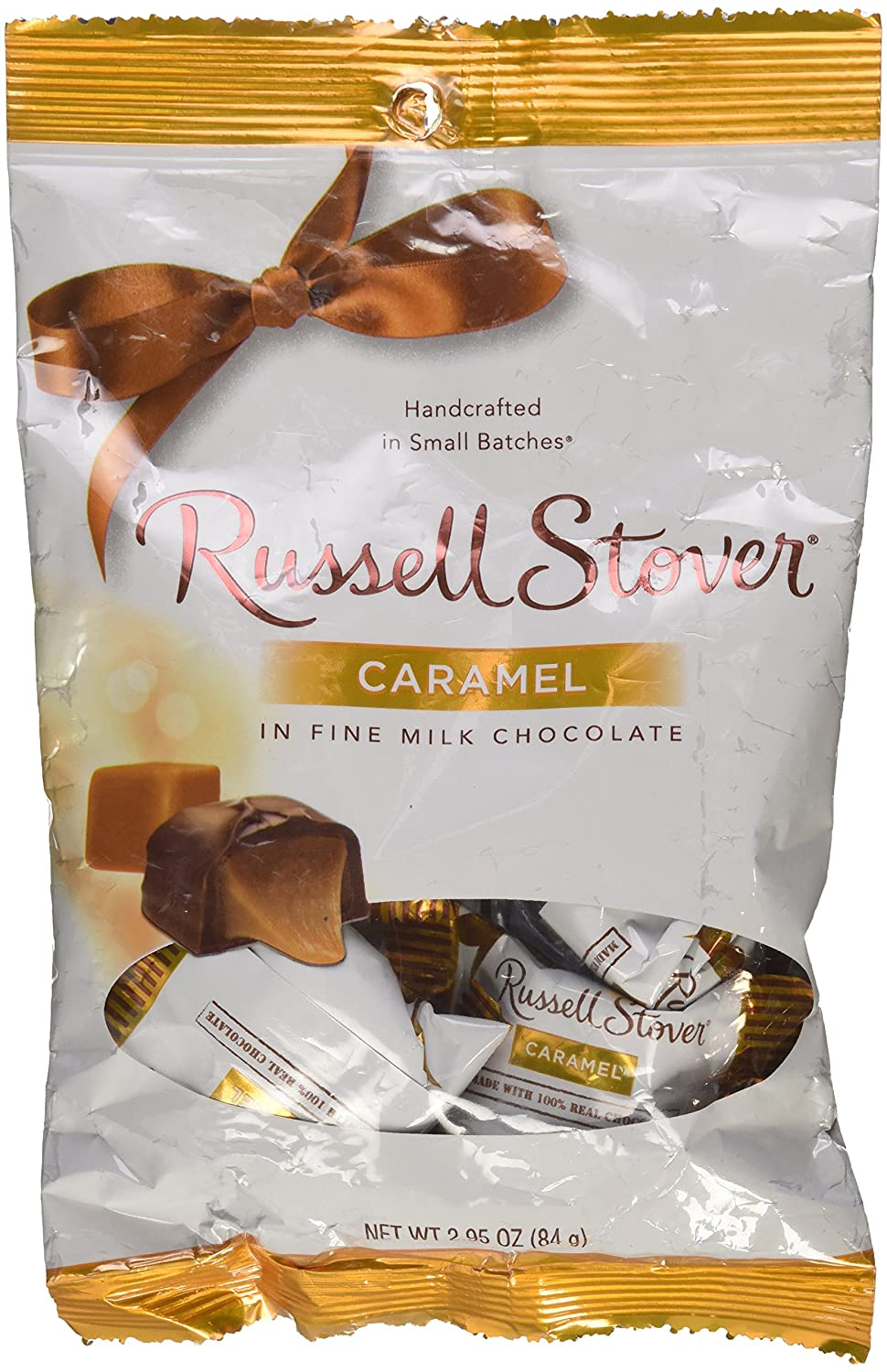 Amazon.com : Russell Stover Caramel in Fine Milk Chocolate ...