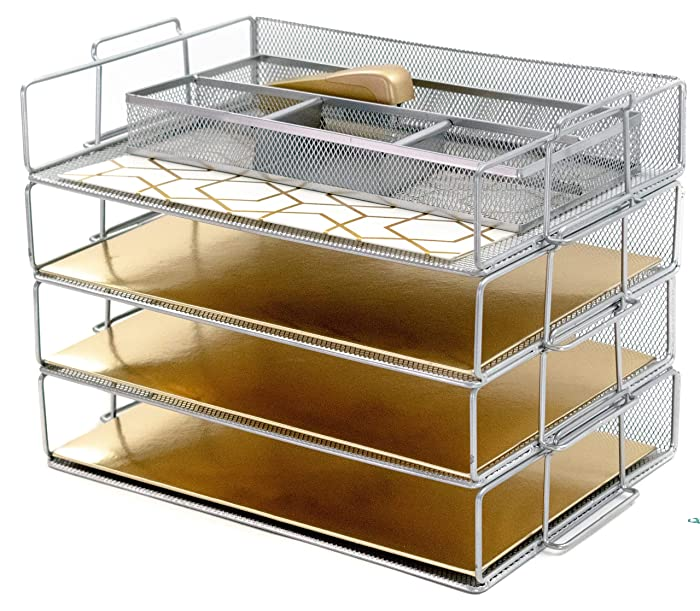 The Best Mesh Office Tray 4 Tier