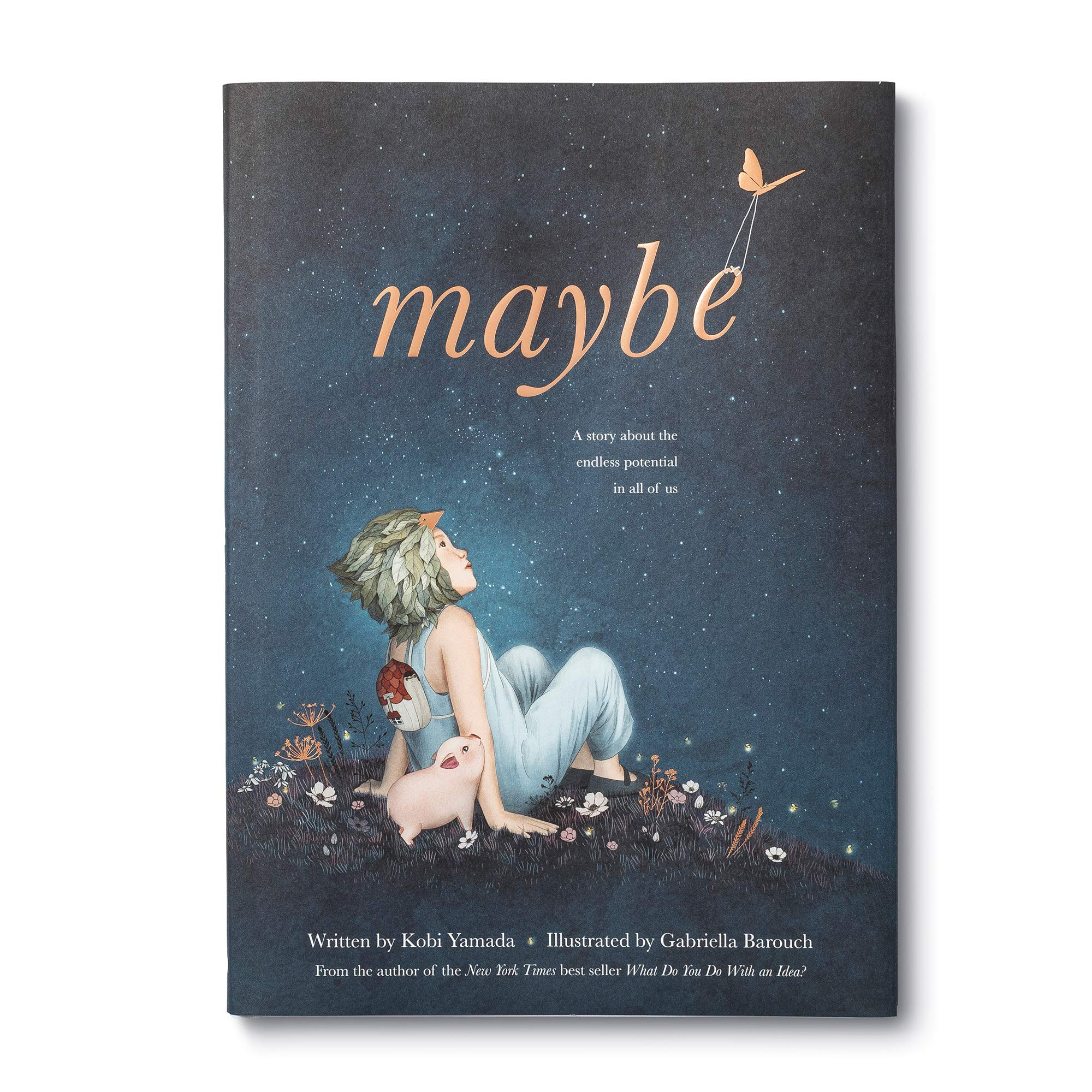 Maybe: A Story About the Endless Potential in All of Us: Yamada, Kobi,  Barouch, Gabriella: 9781946873750: Amazon.com: Books