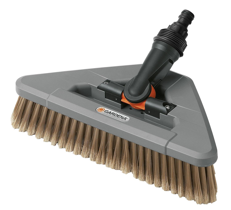 Cepillo de limpieza GARDENA: cepillo limpiador para el Cleansystem, para superficies y la limpieza del coche (5570-20) 05570-20