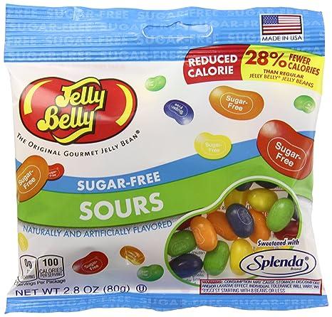 Jelly Belly - Lote de 12 ositos de gummi sin azúcar: Amazon ...